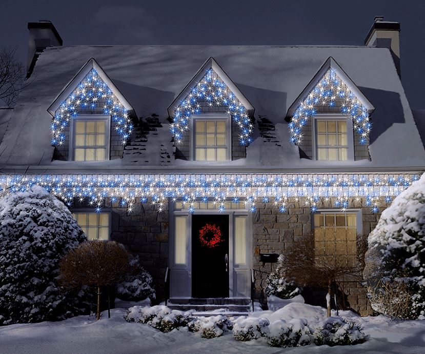 Top Tip 3 How To Hang Icicle Xmas Lights The Yule Blog