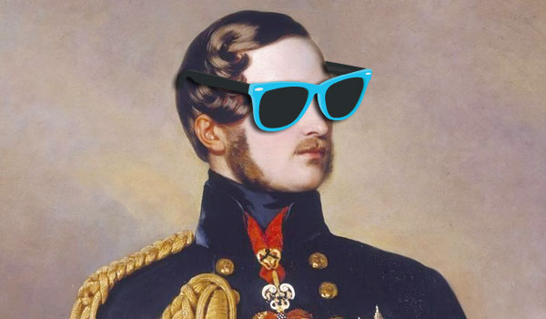 The Artist Formerly Known as Prince Albert