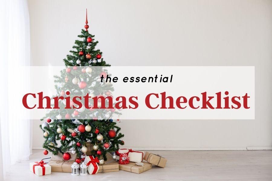The Essential Christmas Checklist