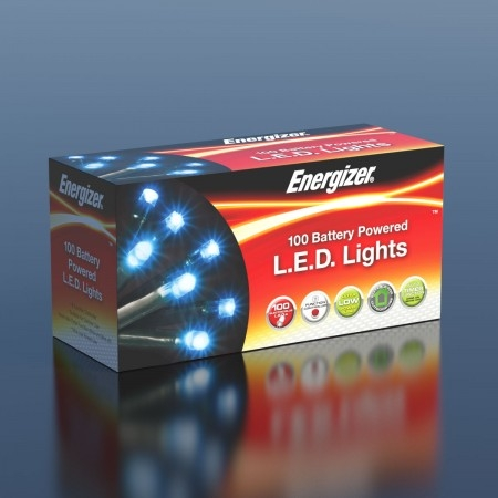 Click to view product details and reviews for 10m Energizer Battery Operated 100 Chaser Christmas Lights.