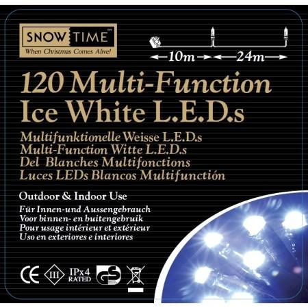 Christmas Trees and Lights 120 Multi Function Christmas Lights EU Plug