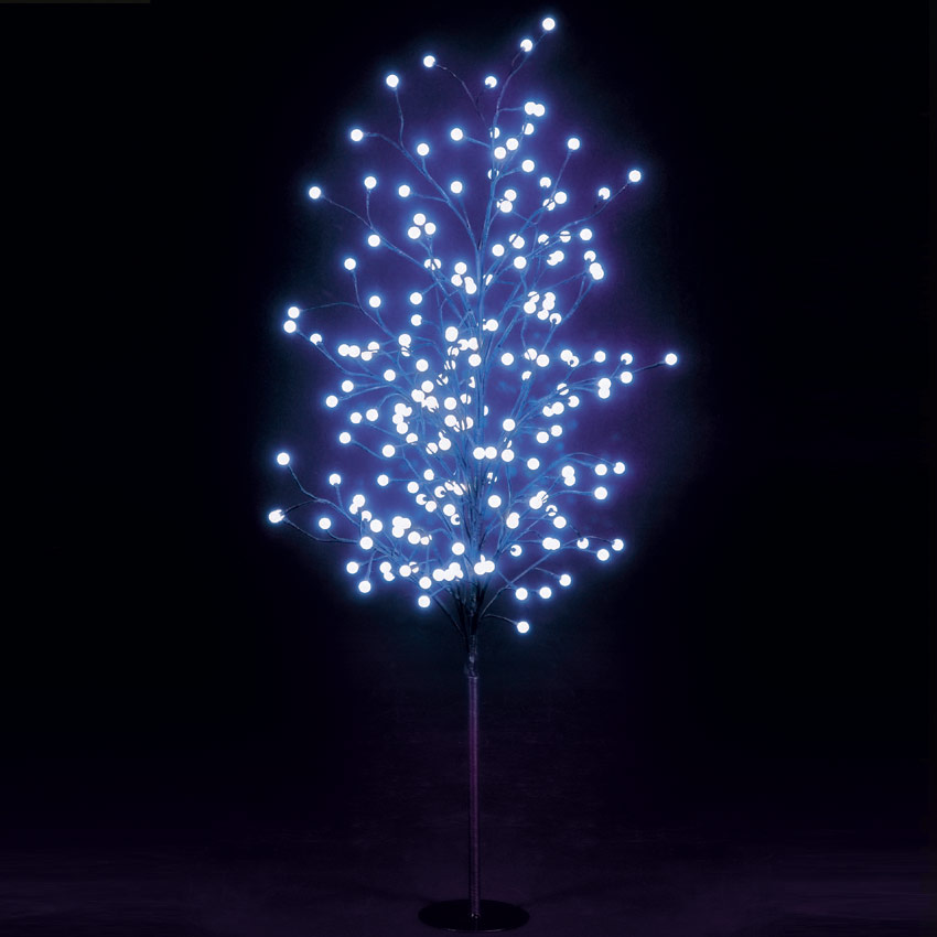SALE On 5ft Multi-Function Globe Tree With 200 Blue LEDs