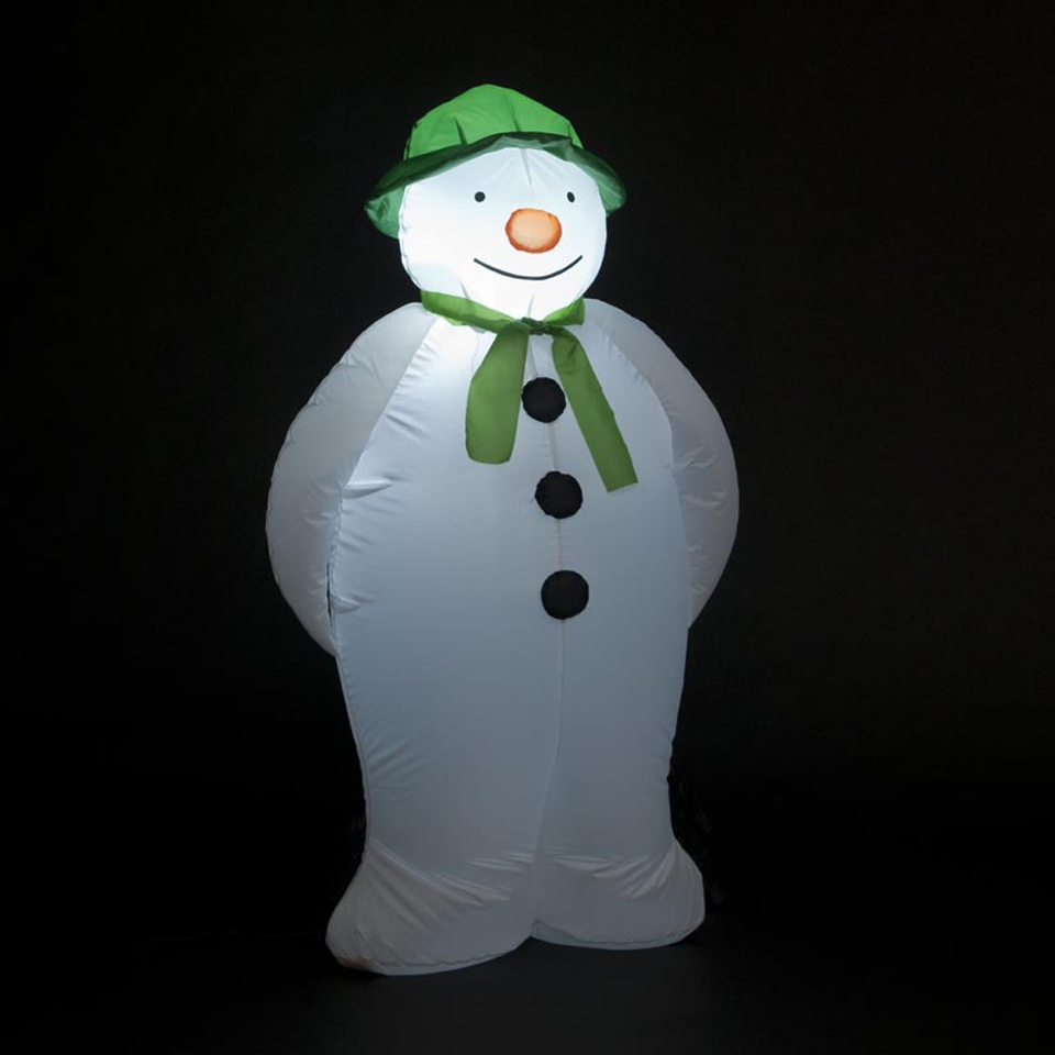 Click to view product details and reviews for 120cm 4ft Inflatable The Snowman.