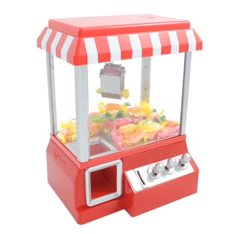 Christmas Trees and Lights Fairground Candy Grabber