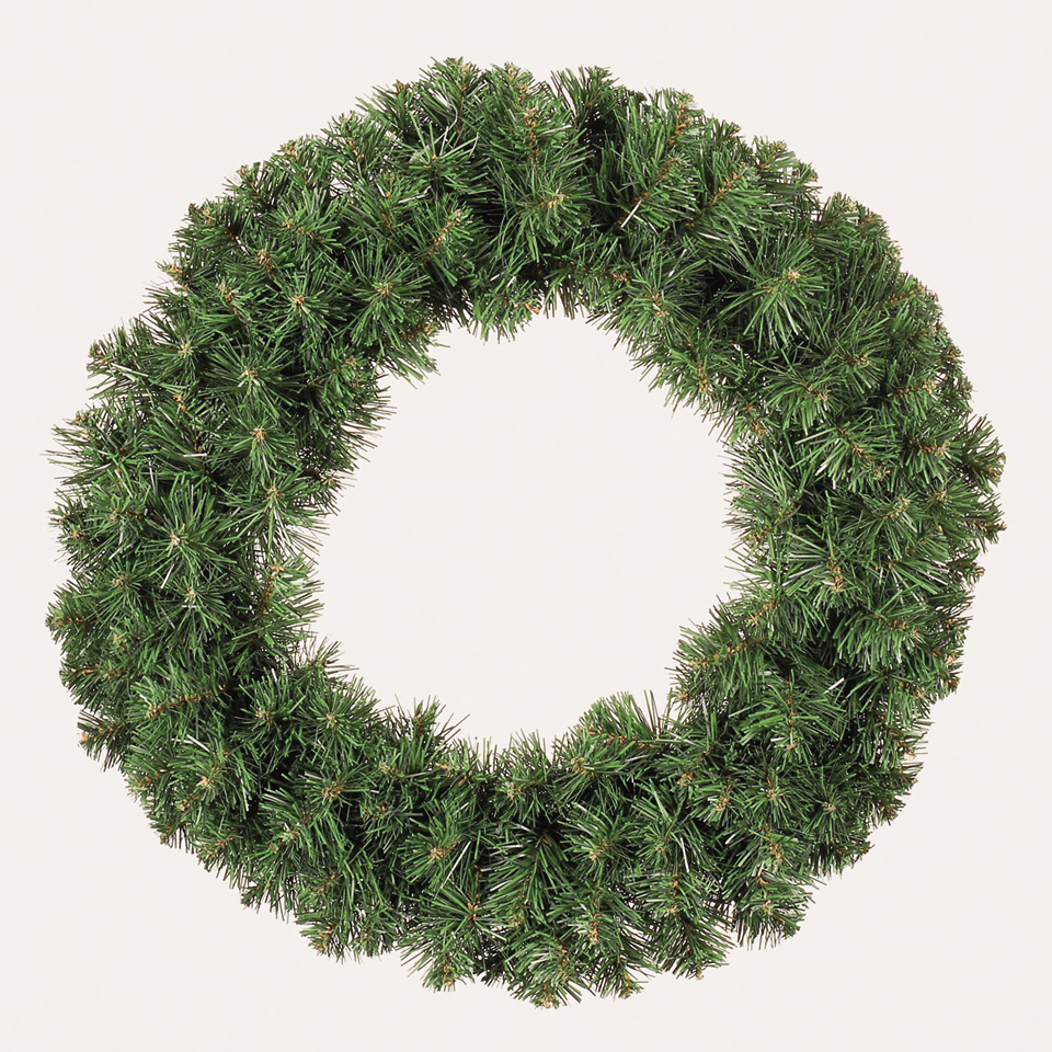 Christmas Trees and Lights 1.5ft Colorado Spruce Wreath