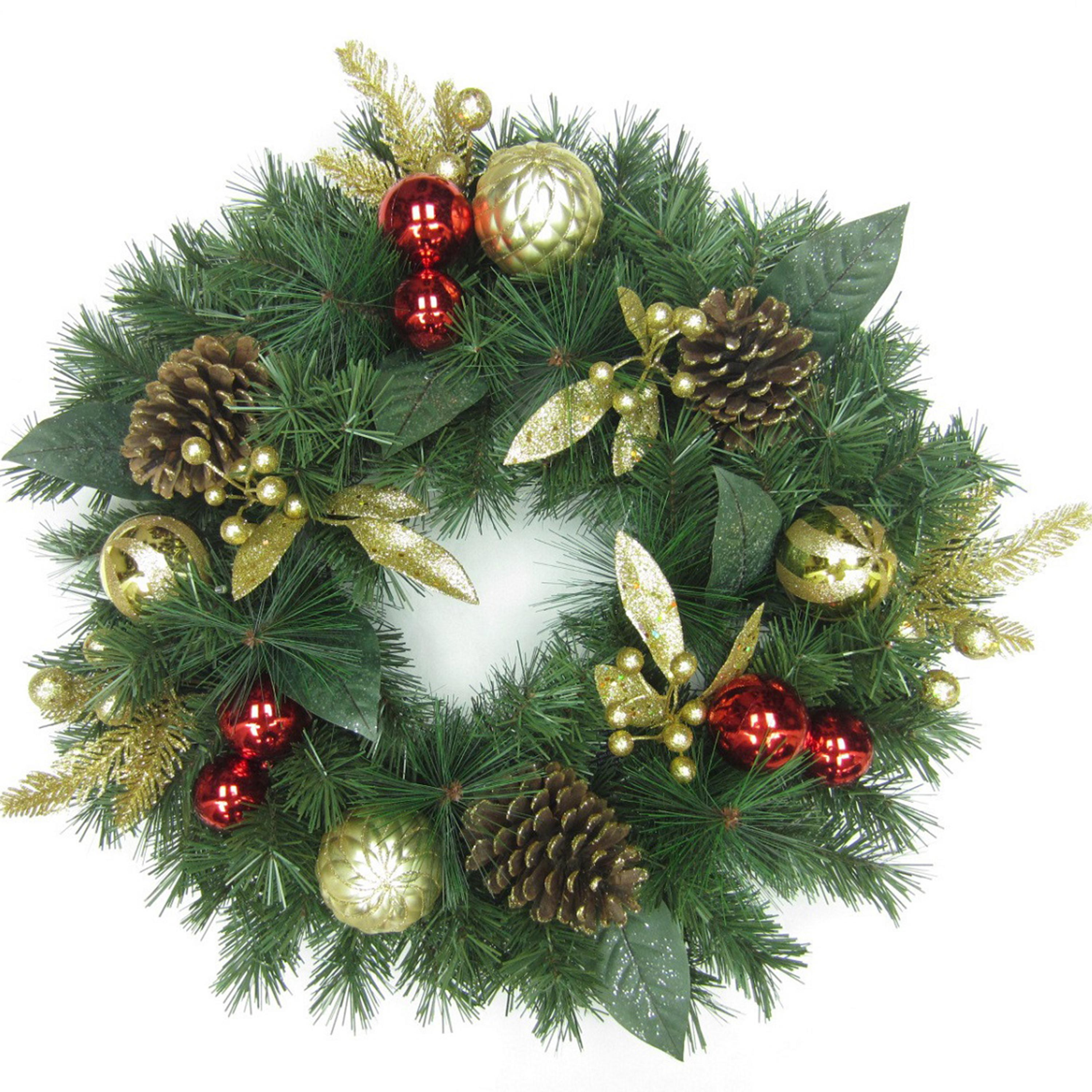 buy cheap christmas door wreath compare products prices. Black Bedroom Furniture Sets. Home Design Ideas