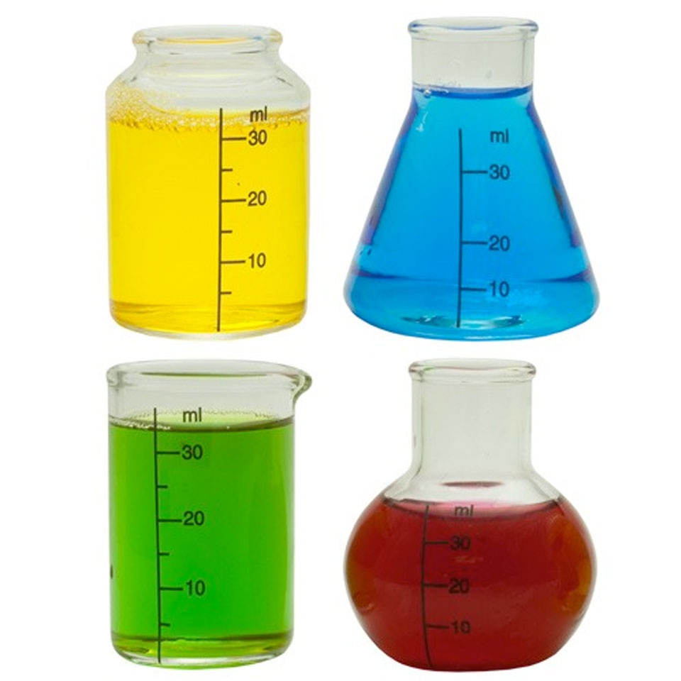 Drinks Lab Chemistry Shot Glasses (Set of 4)