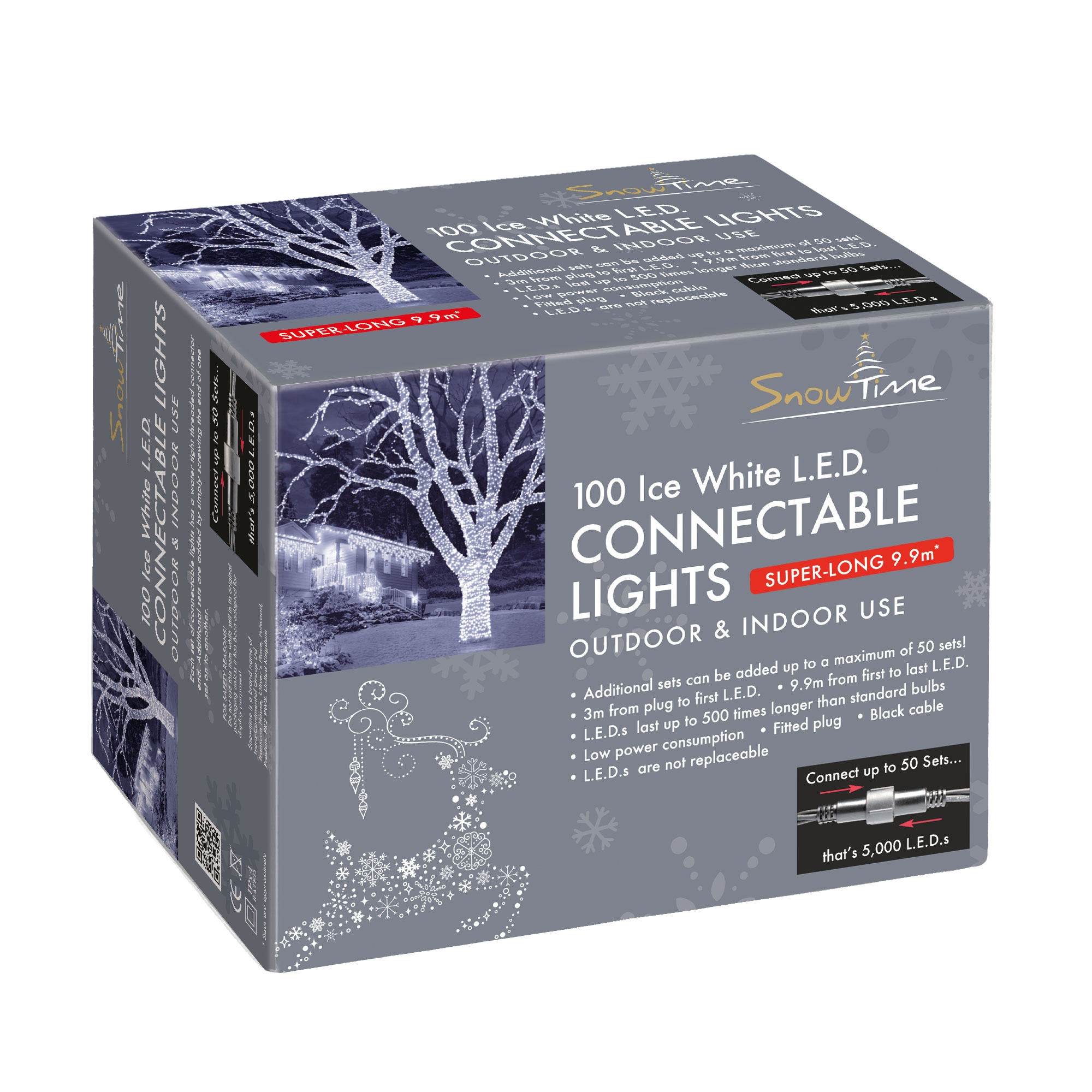 Click to view product details and reviews for 100 Led Connectable Christmas Lights.