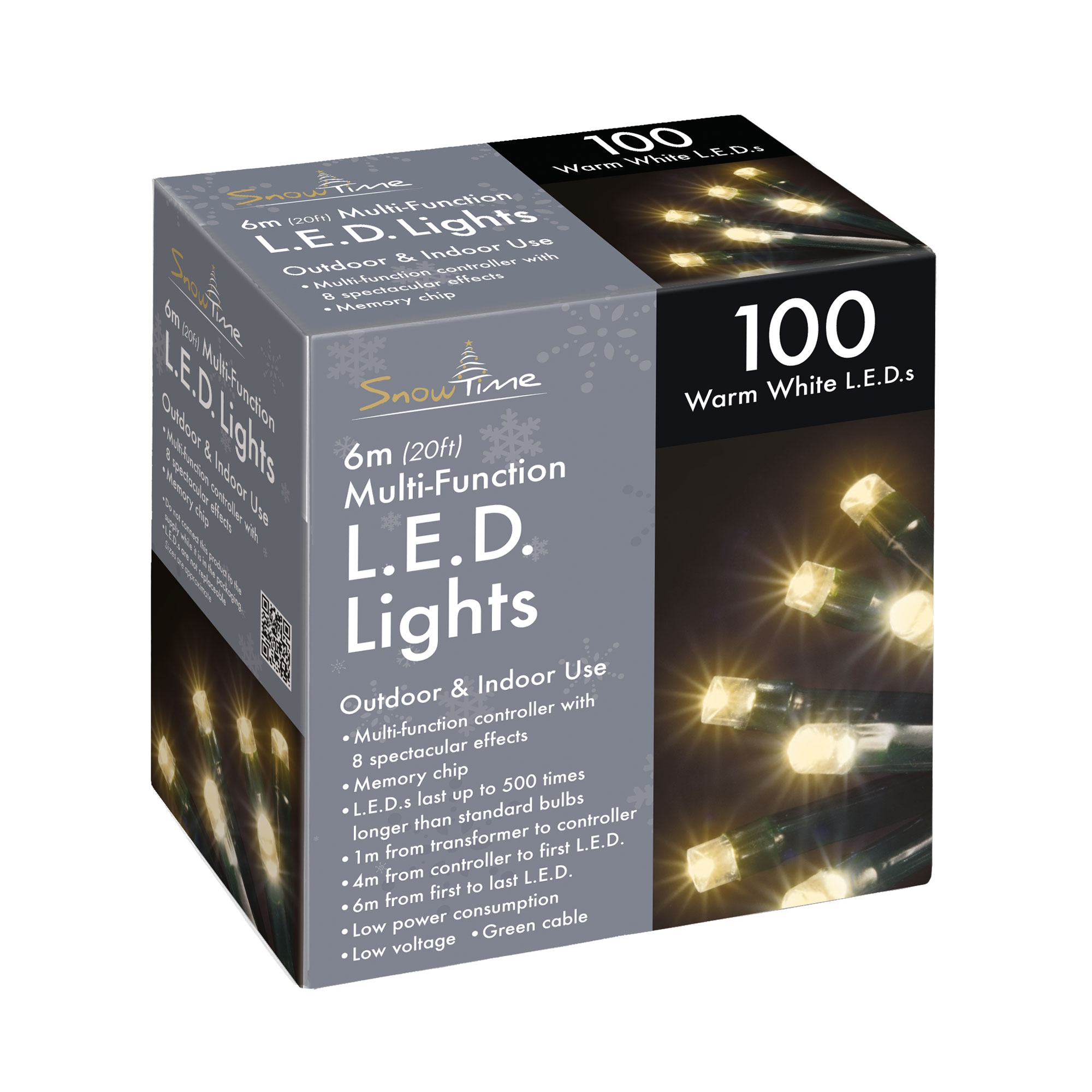 Click to view product details and reviews for 100 Led Chaser Christmas Lights.