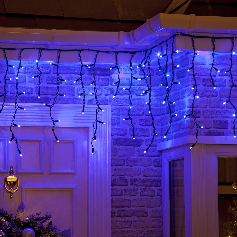 Click to view product details and reviews for 100 Static Connectable Outdoor Indoor Led Christmas Icicle Lights.