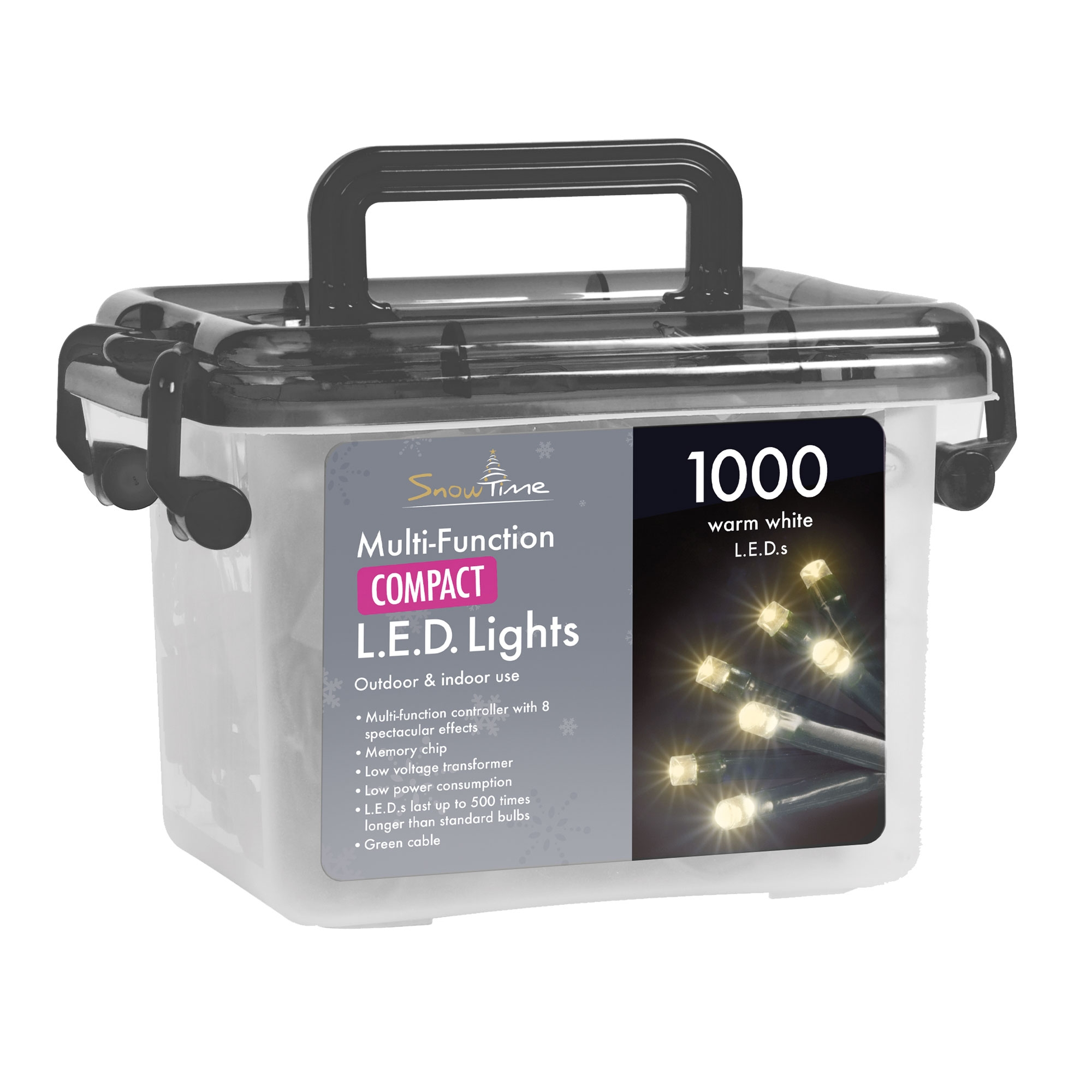 Click to view product details and reviews for 1000 Compact Christmas Tree Lights.