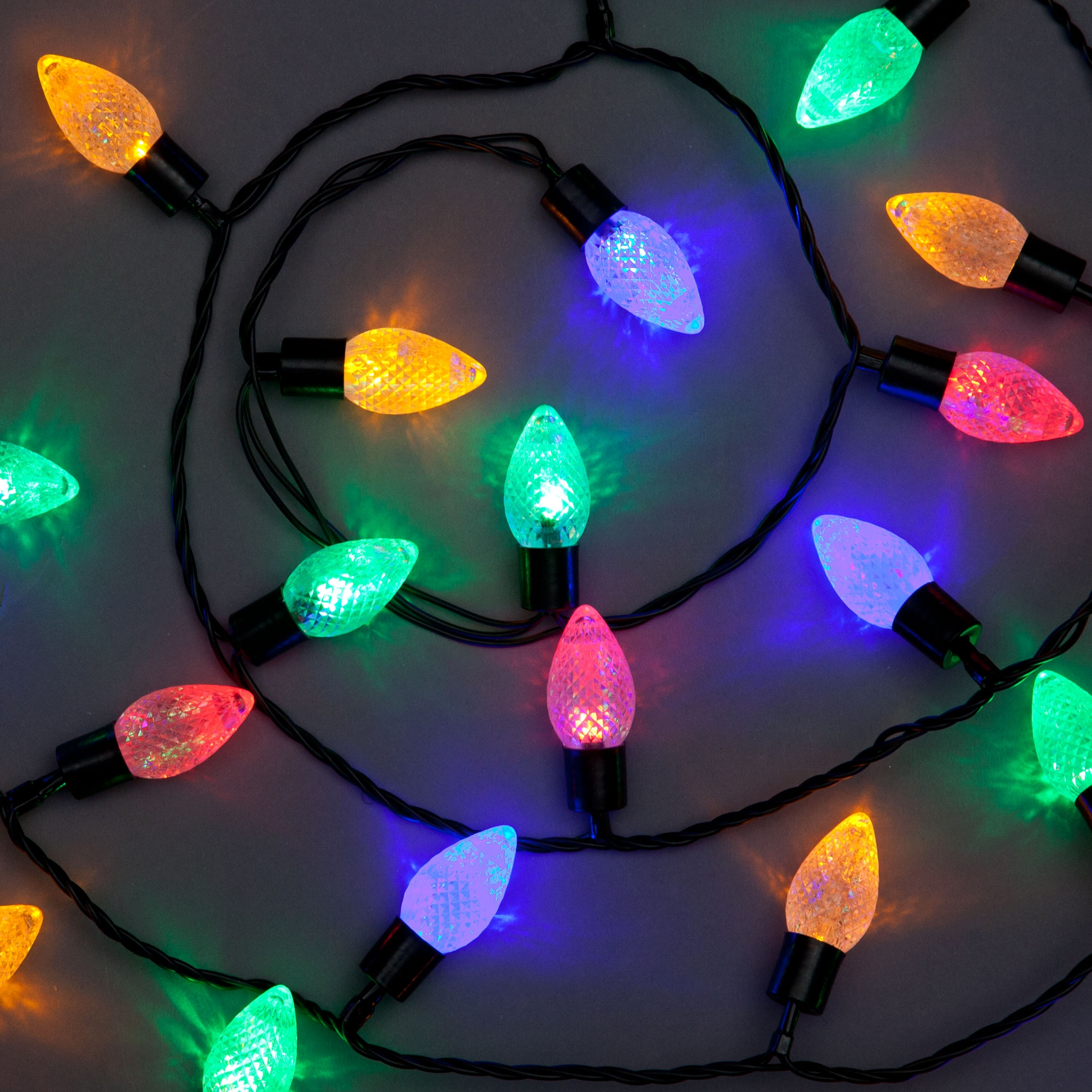 100 Decoration Lights With Multi Coloured Leds