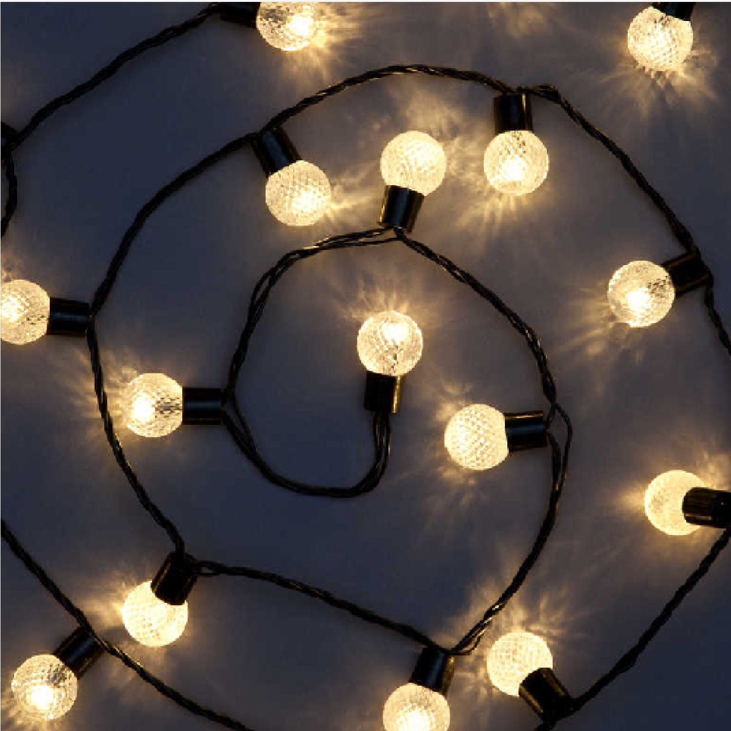 Click to view product details and reviews for 100 Round Berry Lights Warm White Leds.