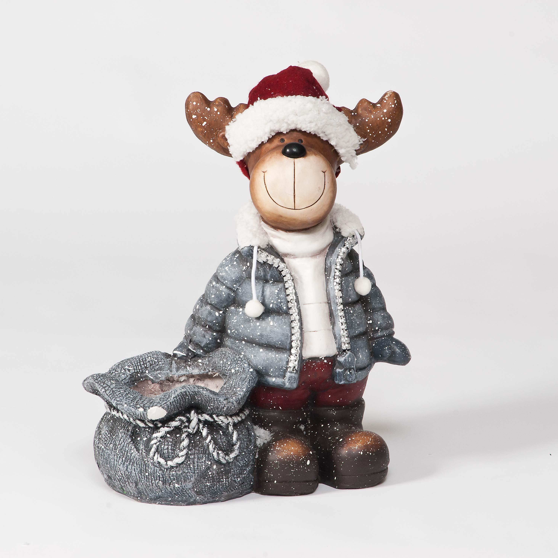Rudolphs Gifts Ceramic Figurine