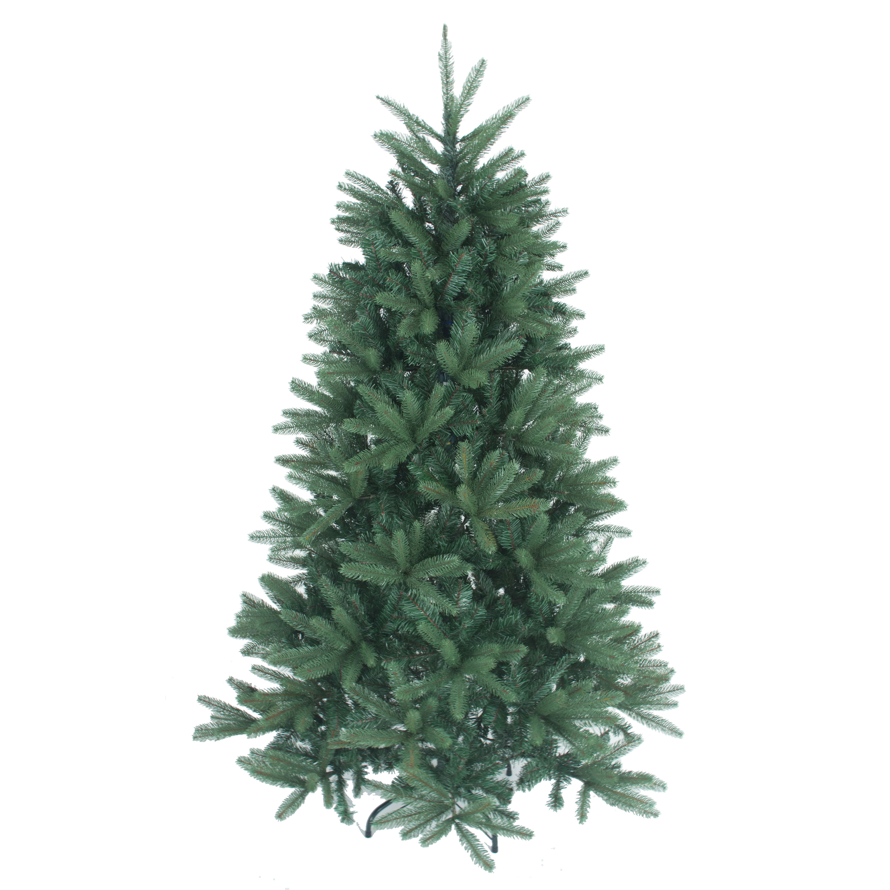 Christmas Trees and Lights 9.75ft Blue/Green Louise Fir Luxury Premium PE Christmas Tree