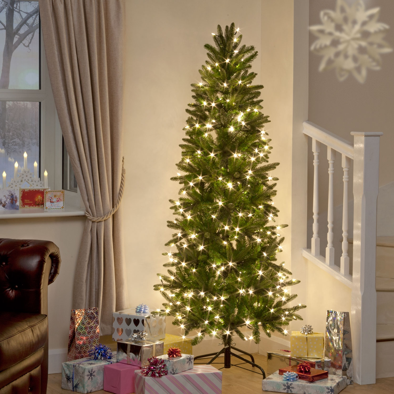 5ft 6ft 7ft 8ft 9ft 10ft 12ft 15ft Xmas Slim Christmas ...