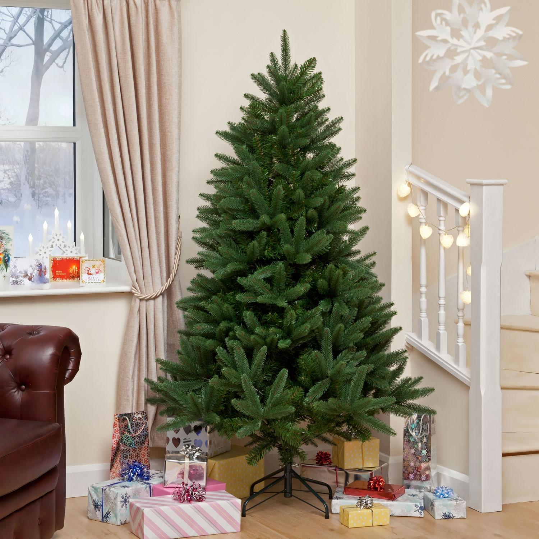 image of louise fir green instant shape premium pe christmas tree
