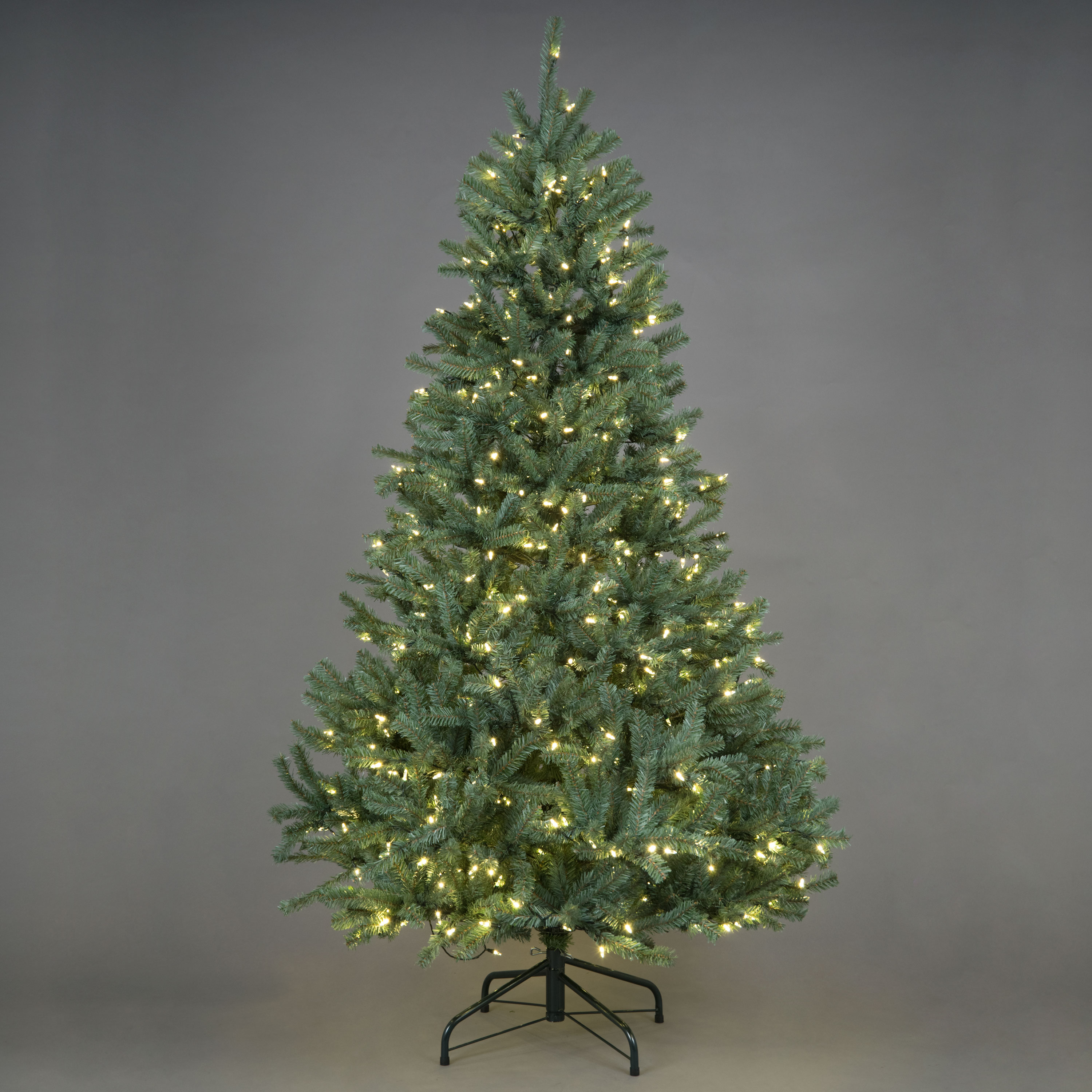 Artificial Christmas Tree Branches.Norway Blue Green Pre Lit Artificial Christmas Tree