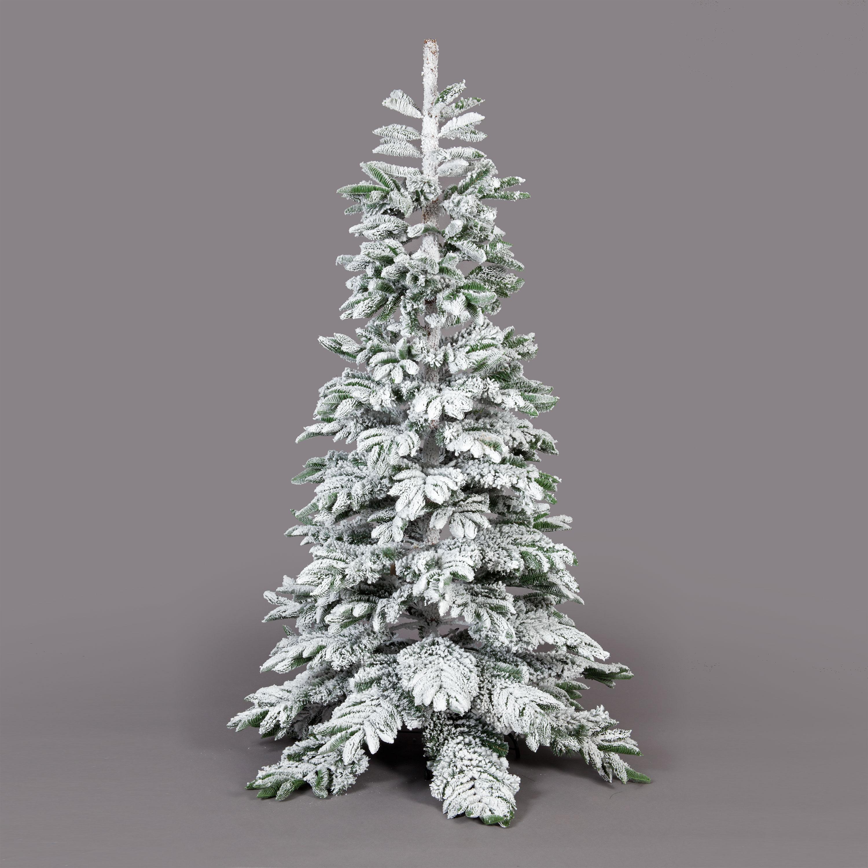 7ft Premium Artificial Nordmann Frosted Fir Tree