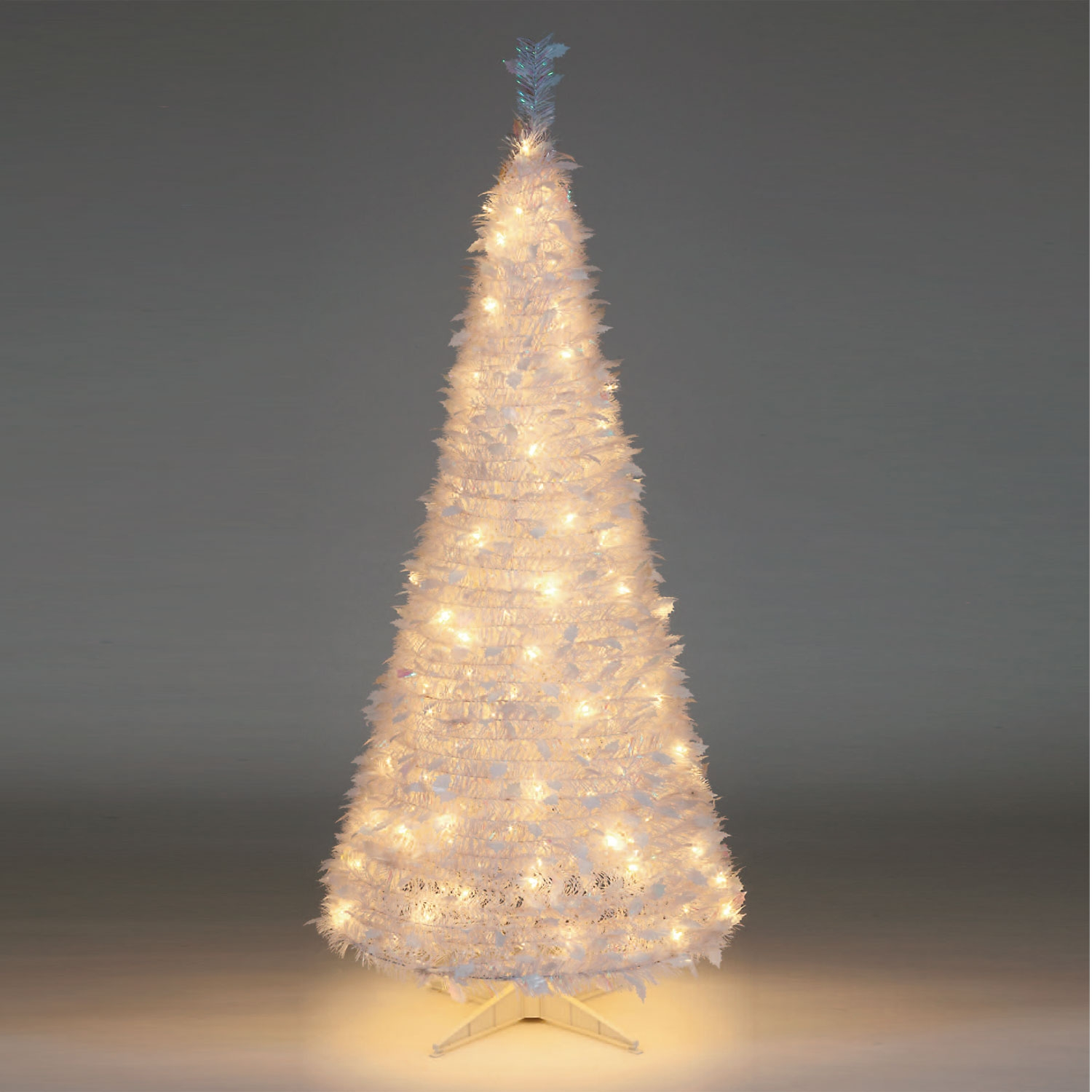 Pull Up Christmas Trees With Lights