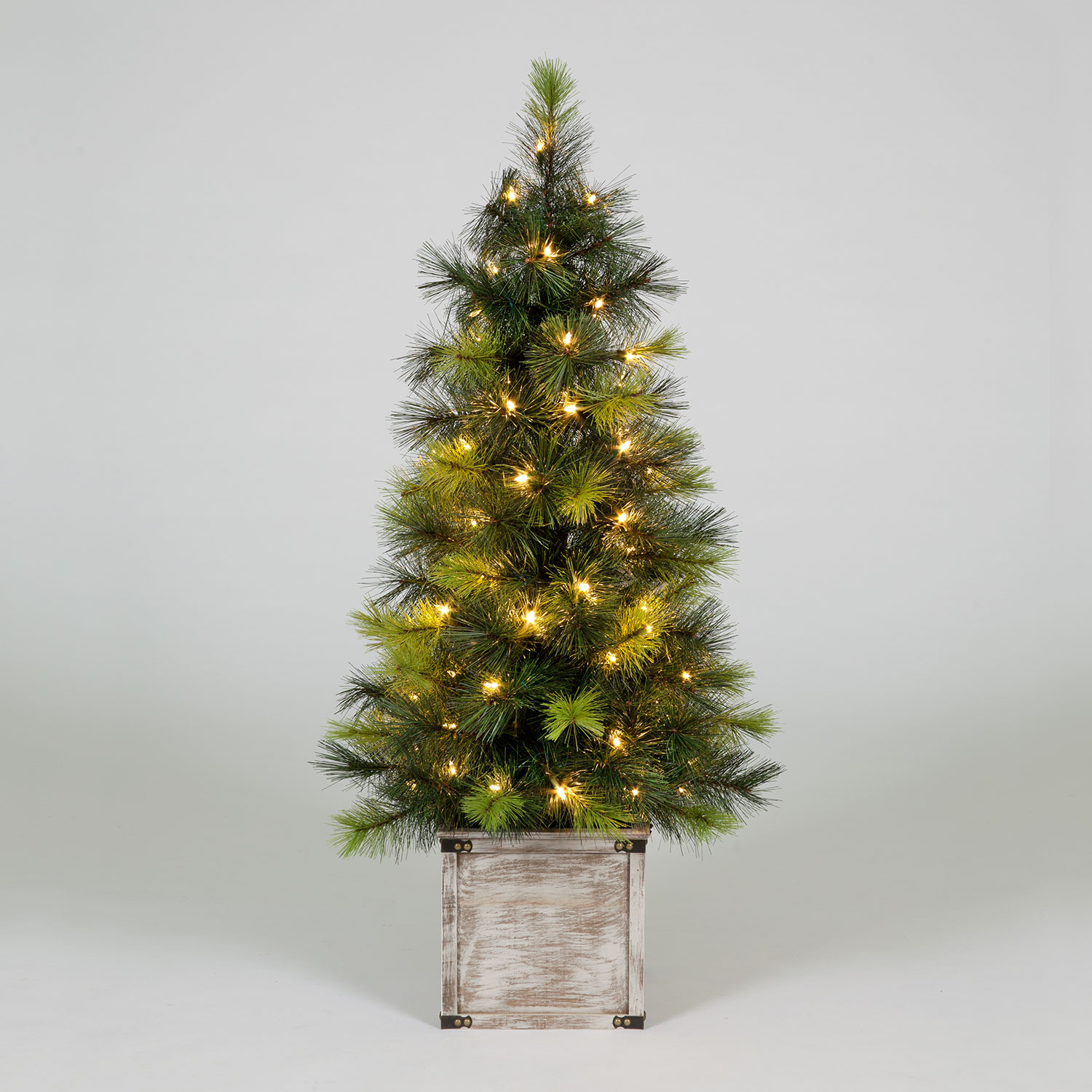 Click to view product details and reviews for 120cm Scots Pine Porch Christmas Tree With 70 Warm White Leds.