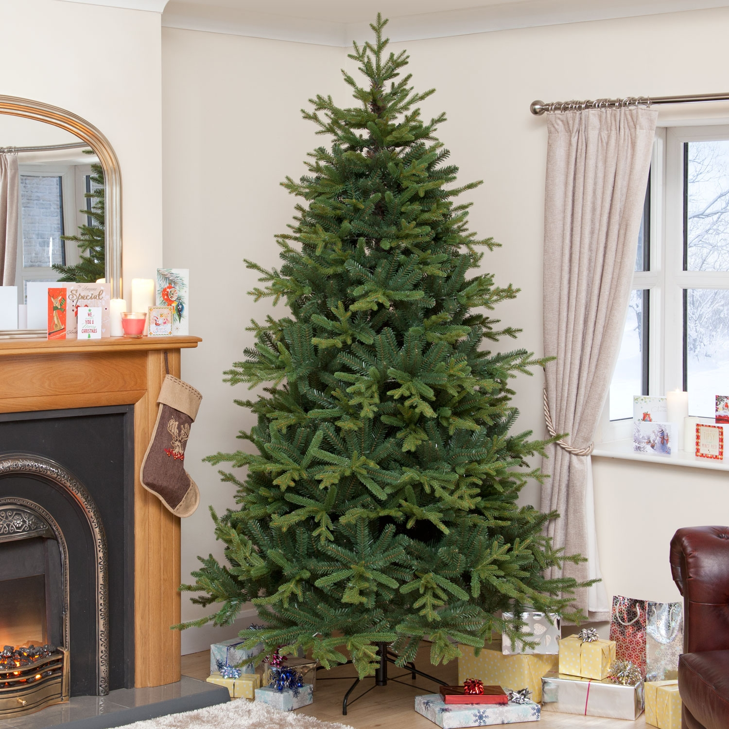 Christmas Decoration|Christmas Trees Natural Needle PE Norway Spruce