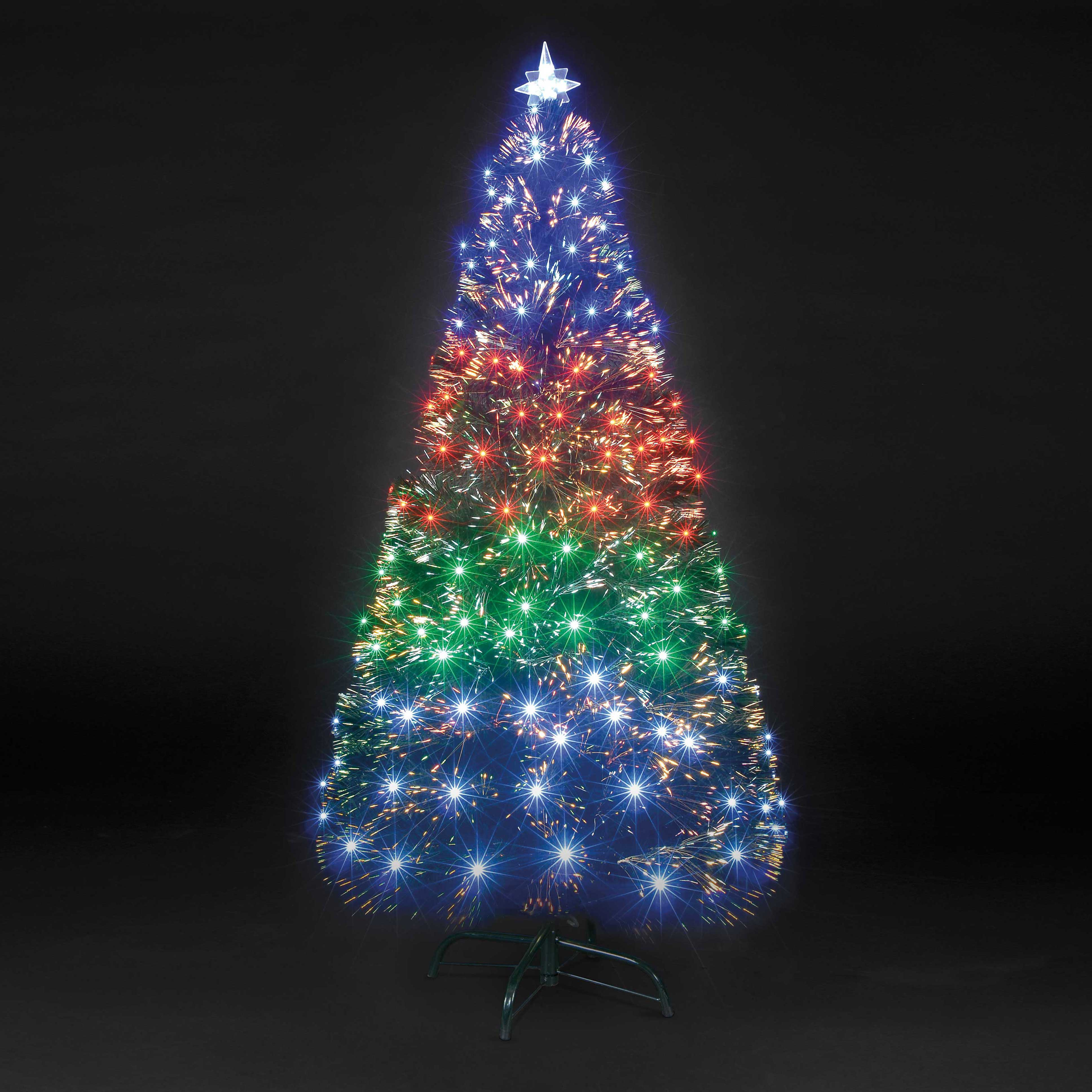 Christmas Trees and Lights Fantasia Fibre Optic Tree with Multi-Colour LEDs