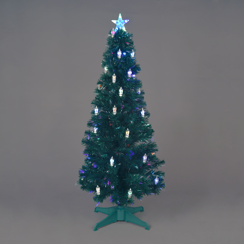 5ft Victoriana Lantern Fibre Optic Christmas Tree