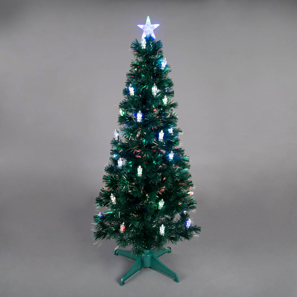 3ft Fibre Optic Christmas Trees