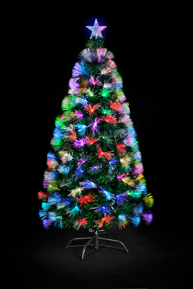 Optic Fibre Christmas Tree