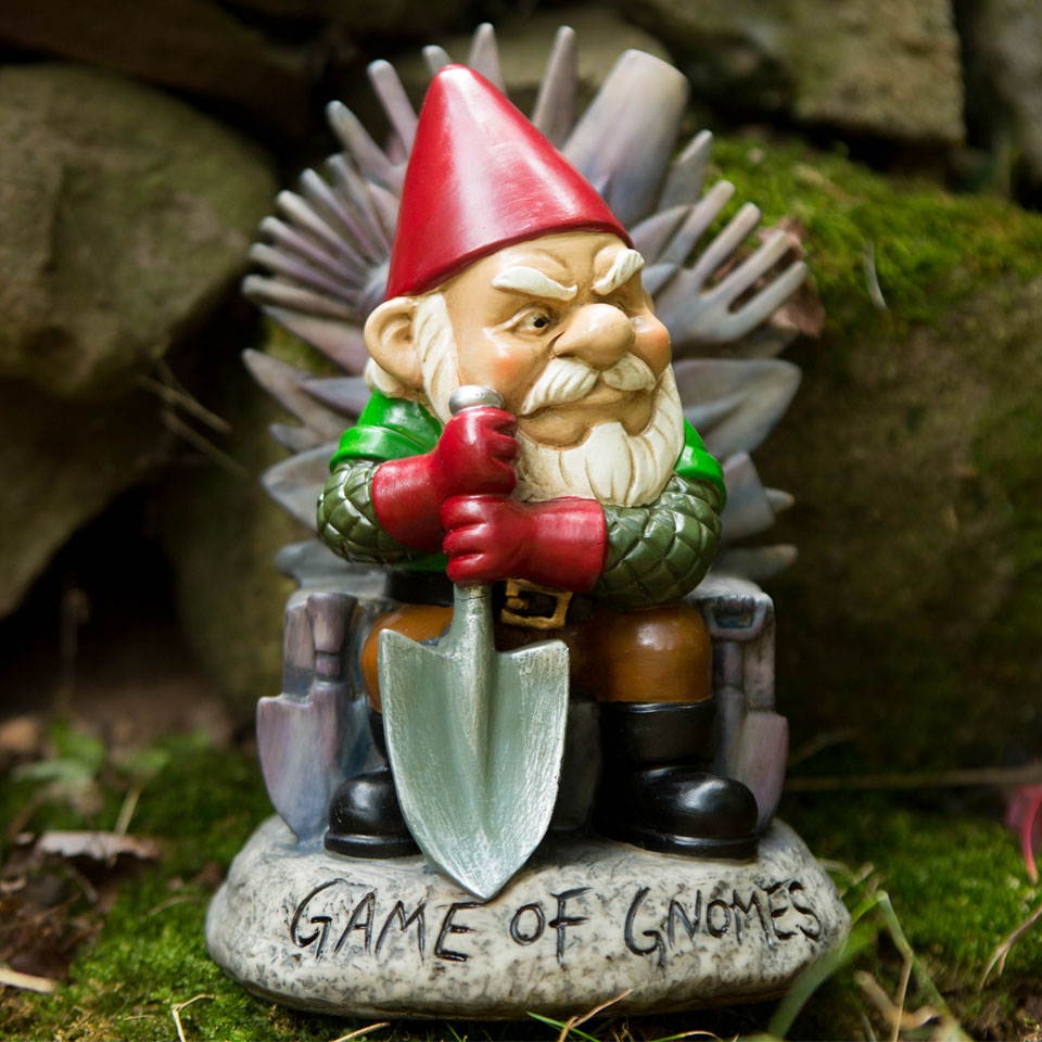 Christmas Trees and Lights Game of Gnomes