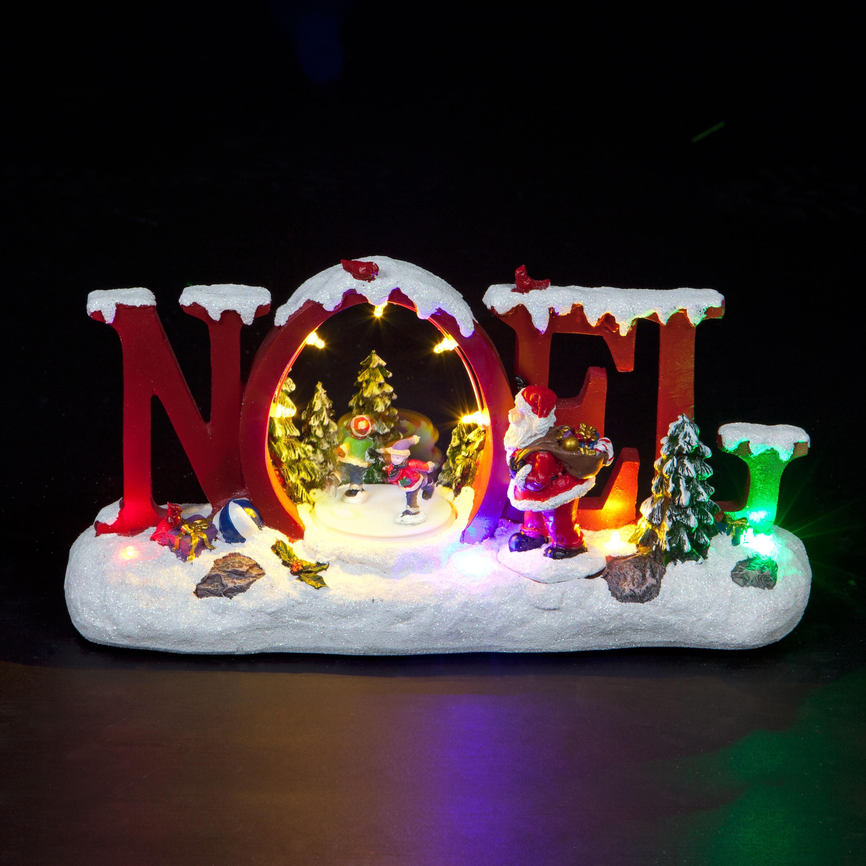 Musical Animated Noel Scene