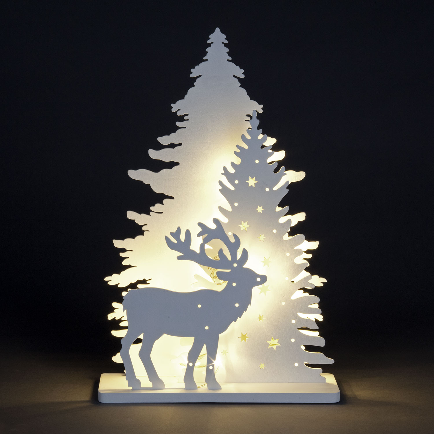 Click to view product details and reviews for 2d Led Forest And Deer Scene.