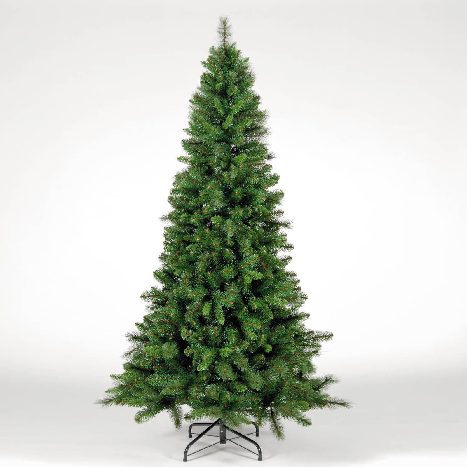 Christmas Trees and Lights 7ft Manitoba Spruce Slim Green Christmas Tree