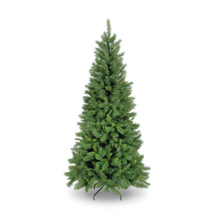 8ft240cm New Duchess Spruce Slim Green Artificial Christmas Tree