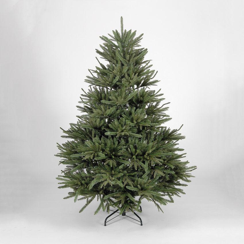 Pe Christmas Trees Uk: 7ft/210cm Kensington Fir Blue/Green PE Premium Artificial