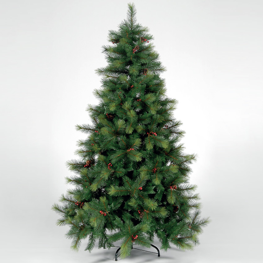 7.5ft230cm Columbia Pine Green Artificial Christmas Tree