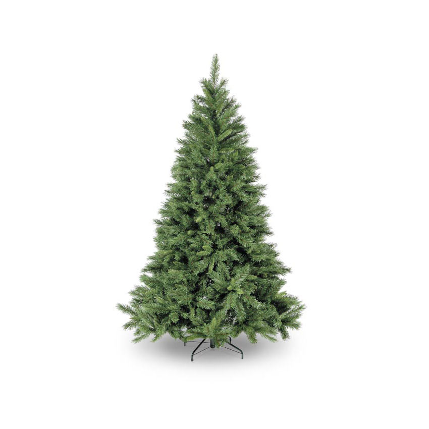 7ft 3in Green Kateson Fir Hinged Artificial Christmas Tree