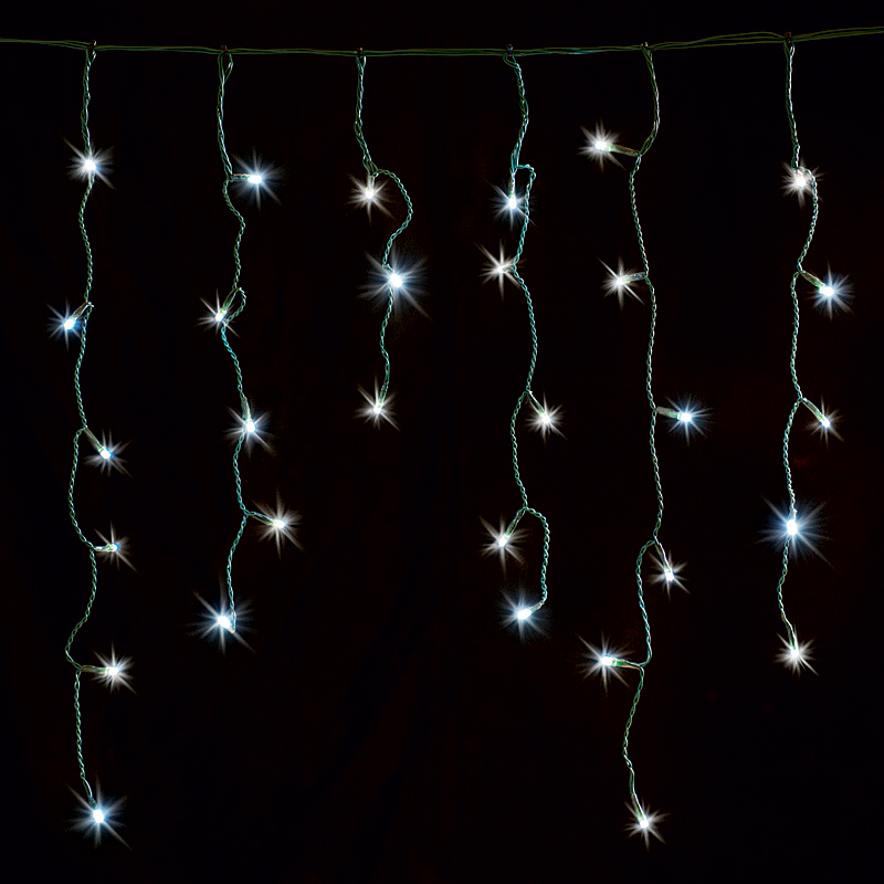 String Christmas Lights Together : Christmas icicle lights Shop for cheap House Decorations and Save online