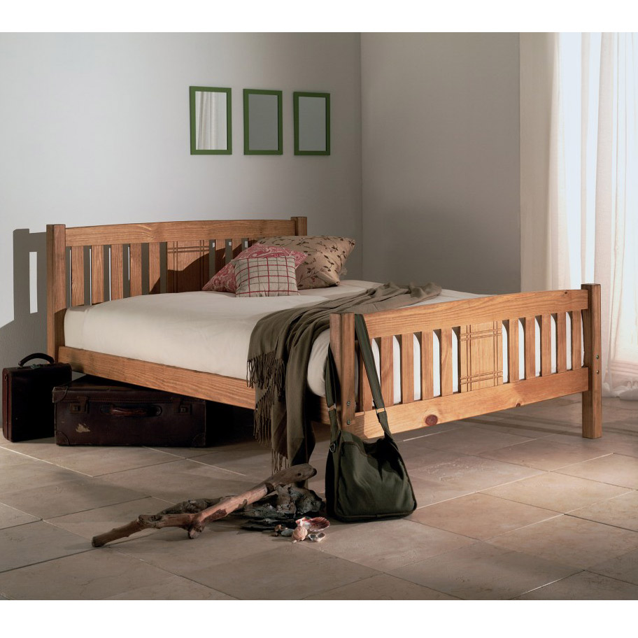 Limelight Sedna 4ft 6 inch Wood Double Bed Frame