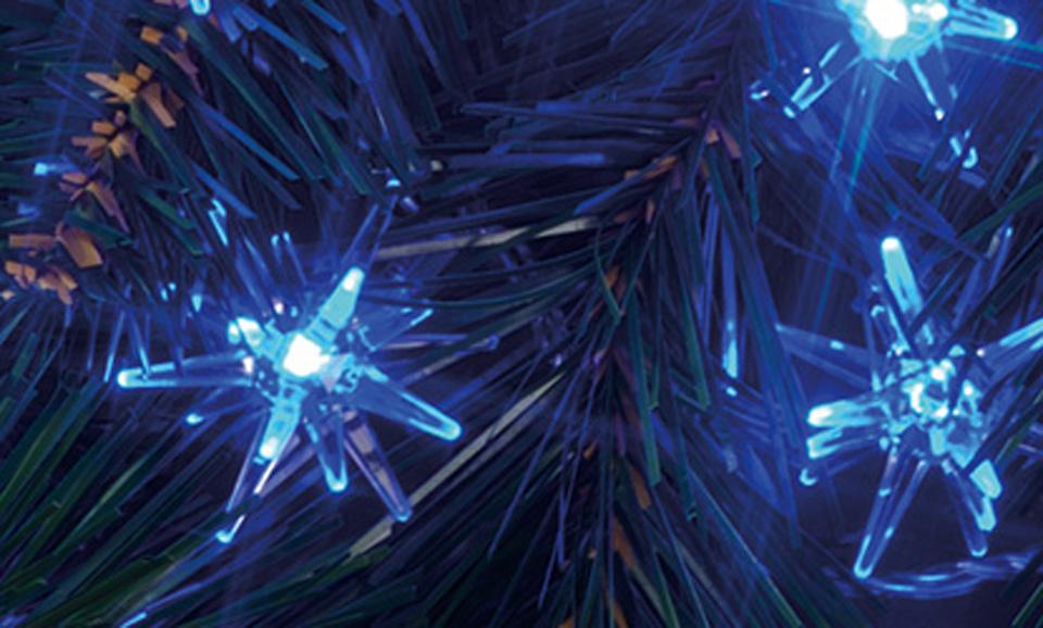 40 Blue LED Bright Star Chaser Lights
