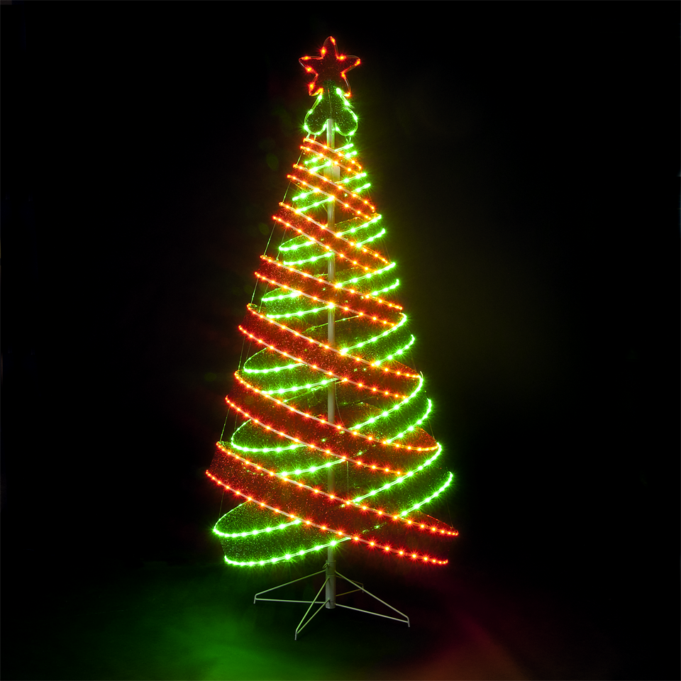 SALE On 120cm 4ft Outdoor Indoor Red Green 456 Led