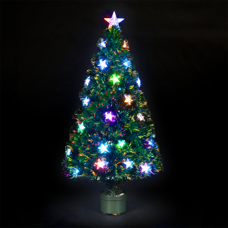 180cm6ft Fibre Optic Meteor Christmas Tree with 48 LEDs