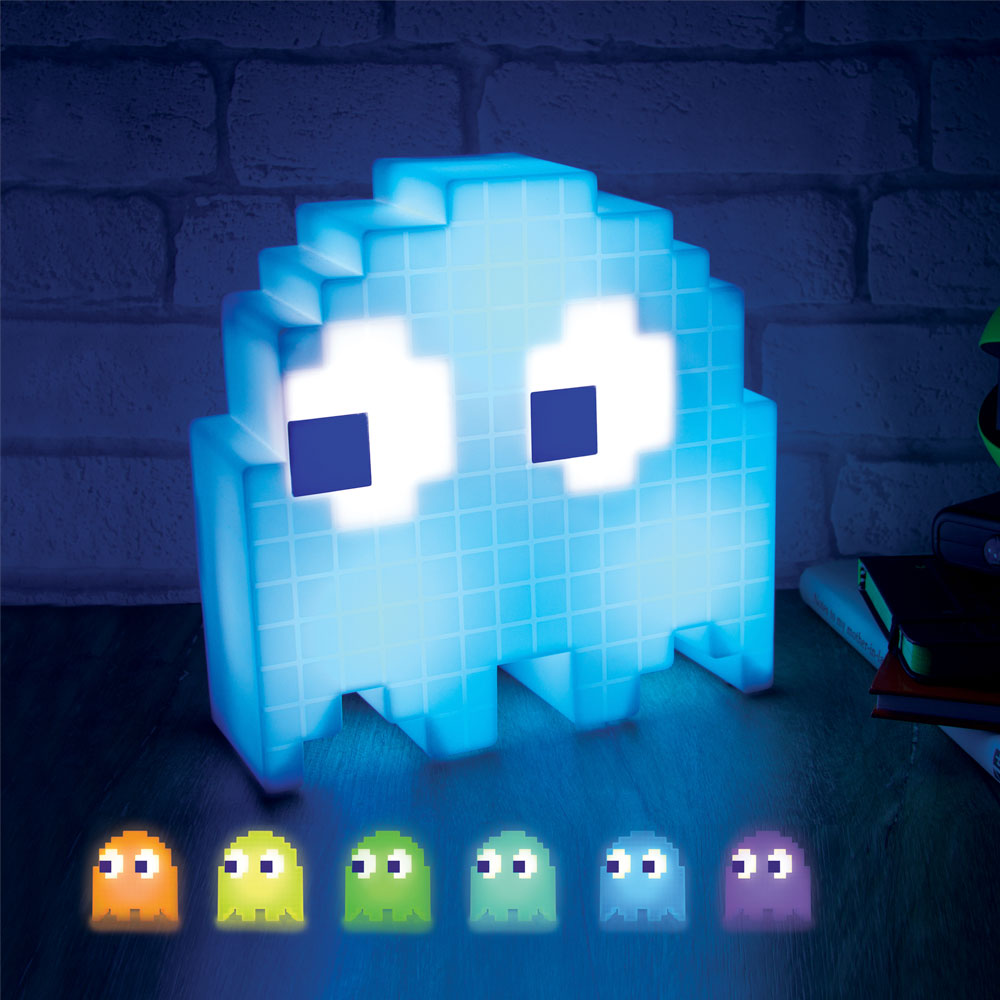 Christmas Trees and Lights Pac-Man Ghost Light