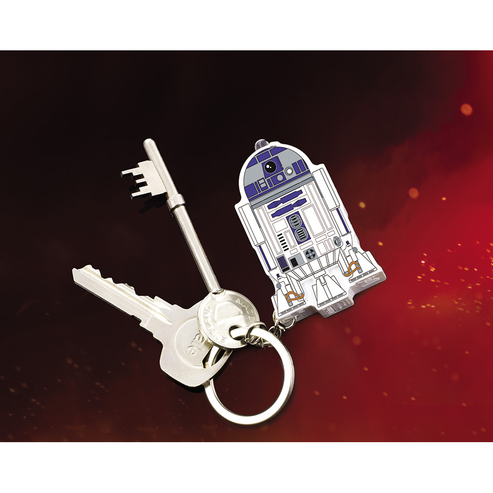 Christmas Trees and Lights R2-D2 Keyring Torch with Sound