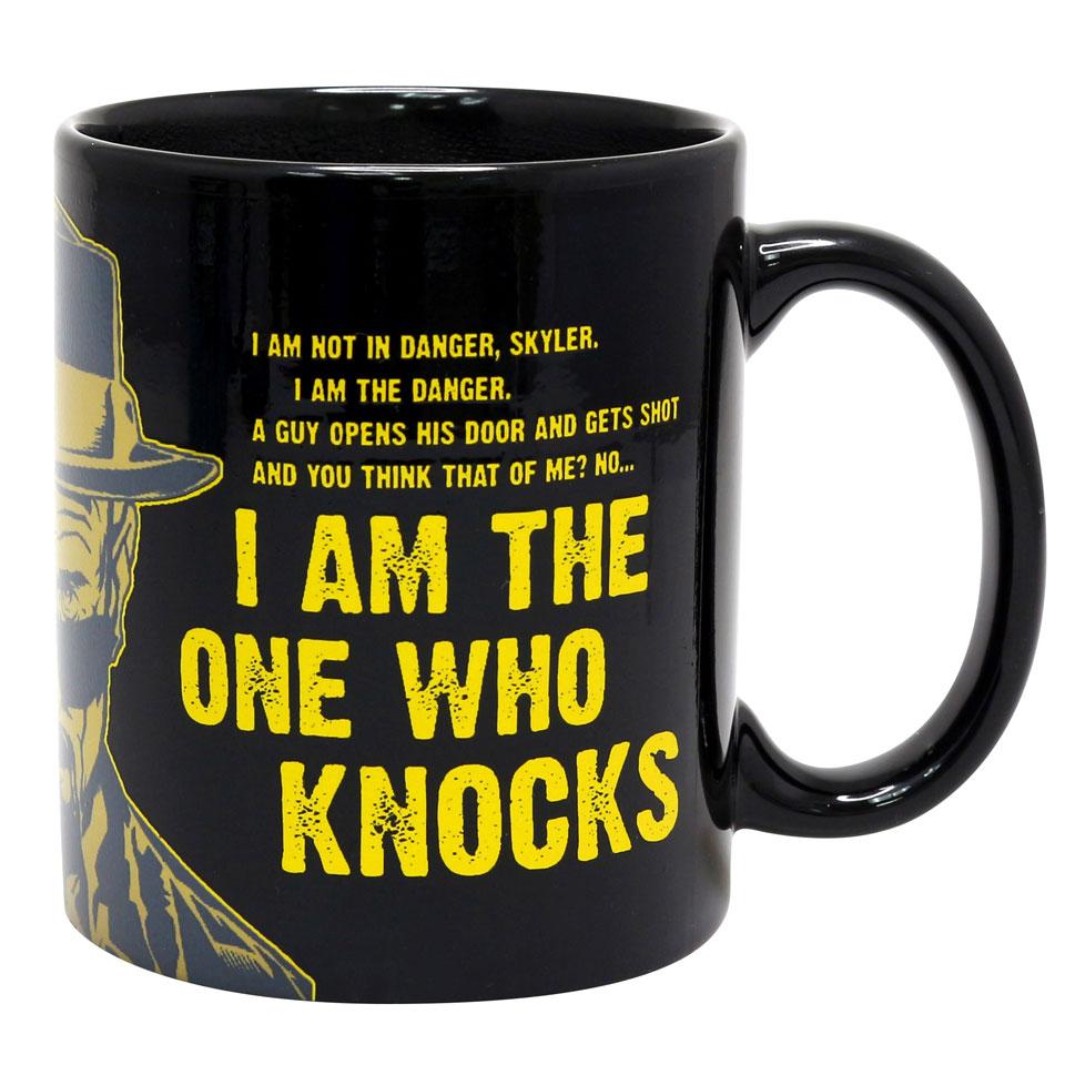 Christmas Trees and Lights I Am The One Who Knocks Mug