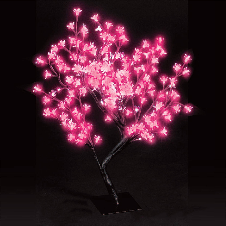 2ft Shocking Pink Cherry Blossom Tree