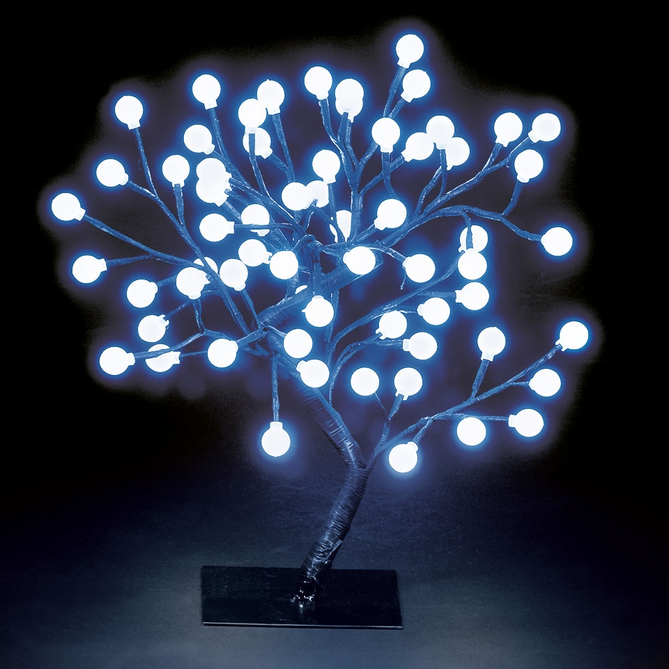 120cm Globe Tree With Red Green /& Blue Colour Changing LEDs