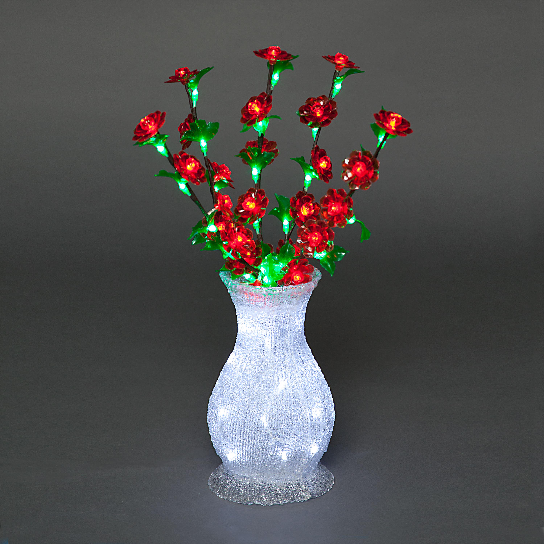 Vases Christmas Decoration