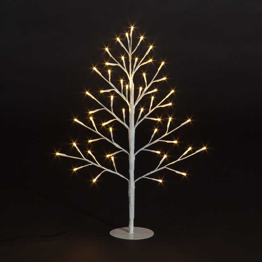 Click to view product details and reviews for 45cm Lit 2d Tree With 39 Warm White Leds.